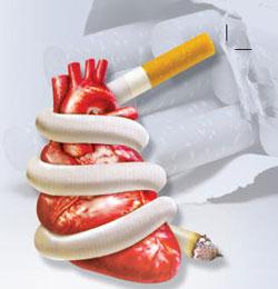 Болит сердце после курения