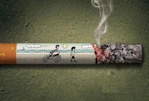 Подроствковое курения