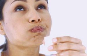 Полоскать полость рта содовым раствором