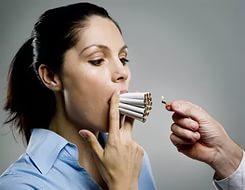 Много сигарет во рту это как одна только много
