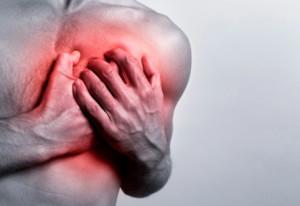 неприятные ощущения в области груди после курения