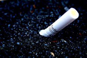 Бычок от сигареты