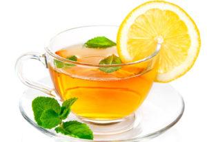 zelenii chai s limonom