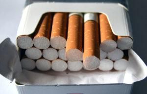 Umenshenie kolichestva sigaret